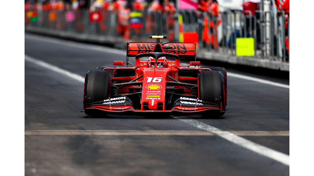Charles Leclerc - Formel 1 - GP Mexico 2019