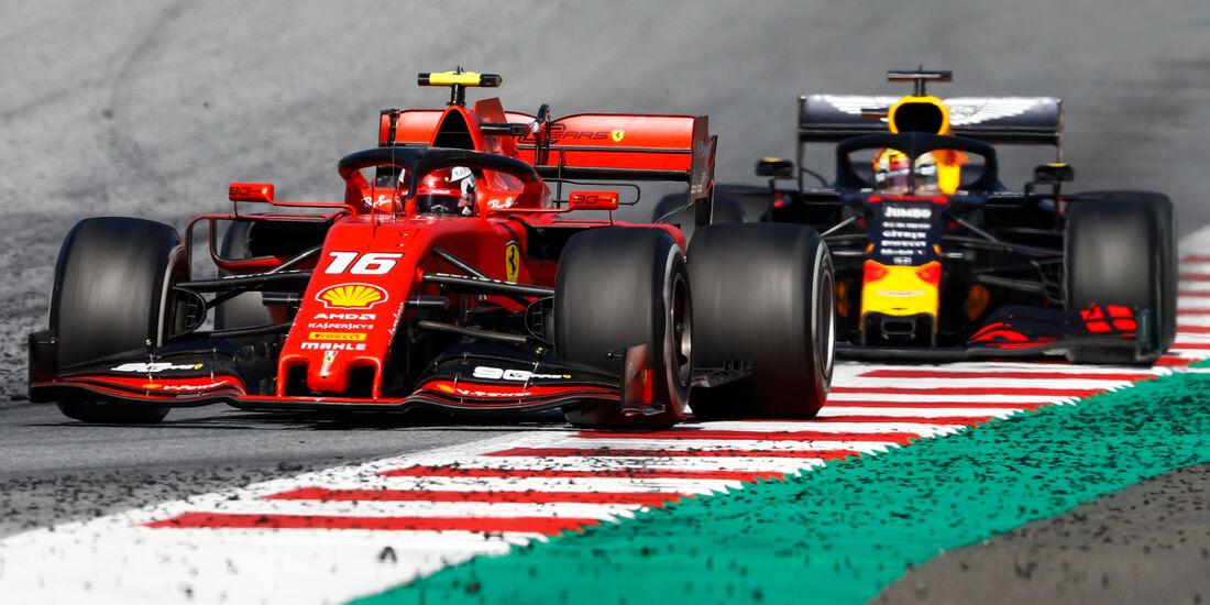Charles Leclerc - Formel 1 - GP Österreich - Spielberg - 30. Juni 2019