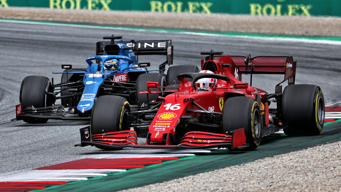 Charles Leclerc - Formel 1 - GP Steiermark - Spielberg - 27. Juni 2021