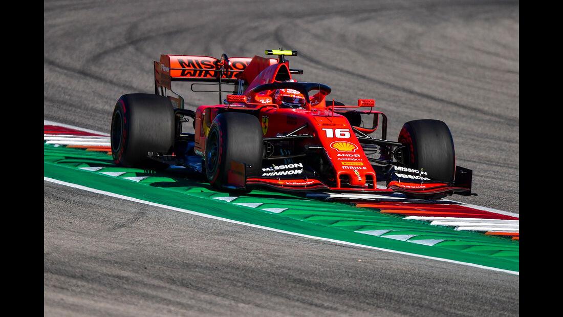 Charles Leclerc  - Formel 1 - GP USA 2019