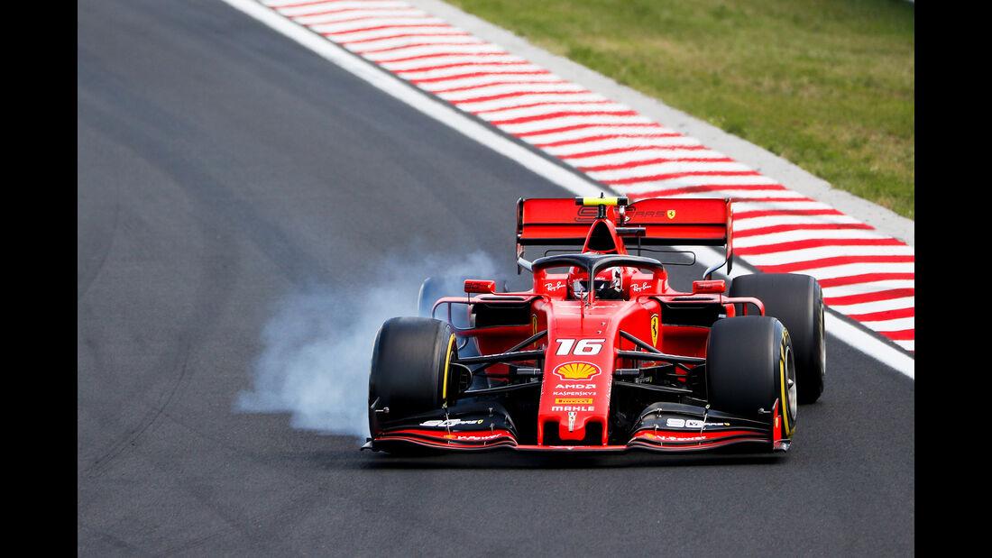 Charles Leclerc - Formel 1 - GP Ungarn 2019