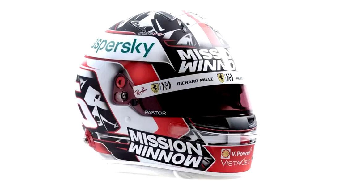 Charles Leclerc - Formel 1 - Helm - 2021
