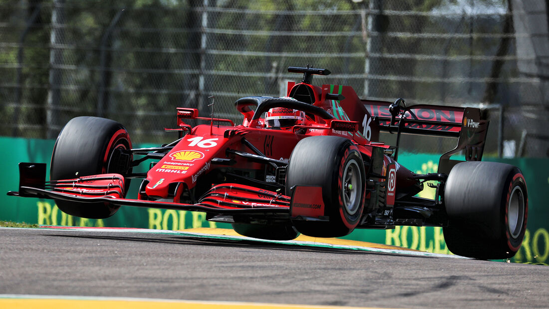Charles Leclerc - Formel 1  - Imola - GP Emilia Romagna 2021