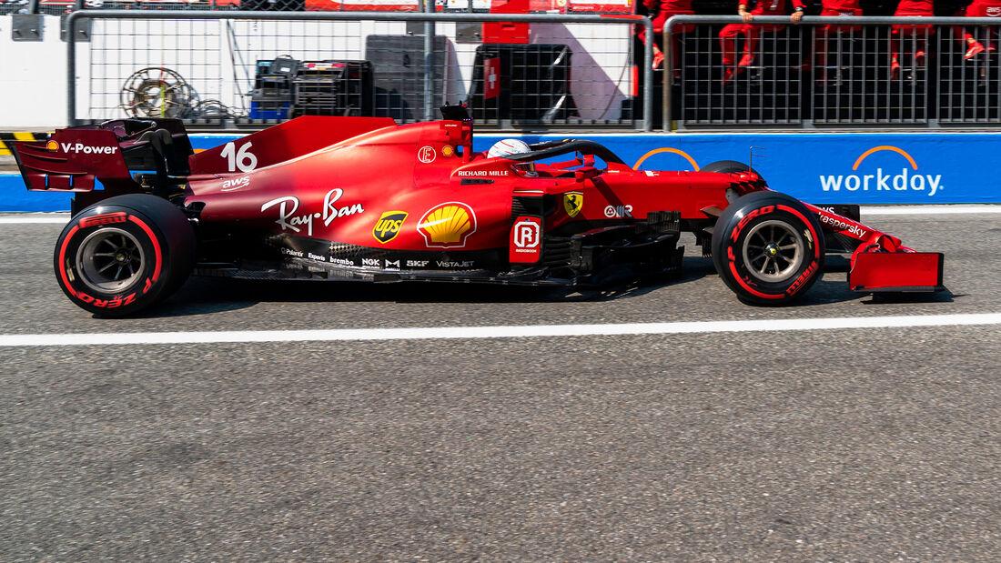 Charles Leclerc - Formel 1 - Monza - GP Italien 2021