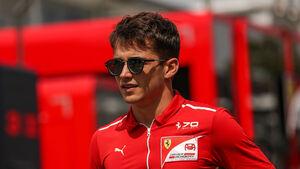 Charles Leclerc - Formel 2