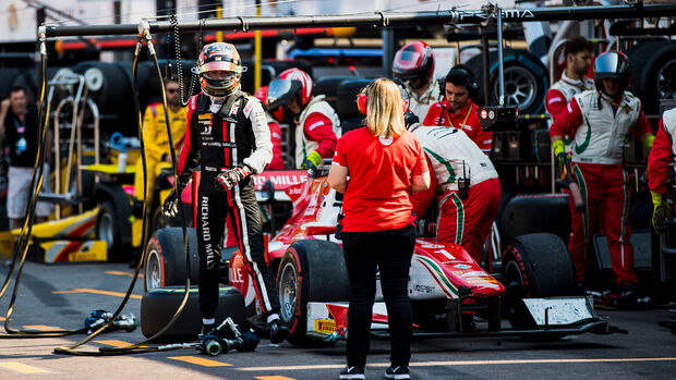 Charles Leclerc - Formel 2 Monaco 2017
