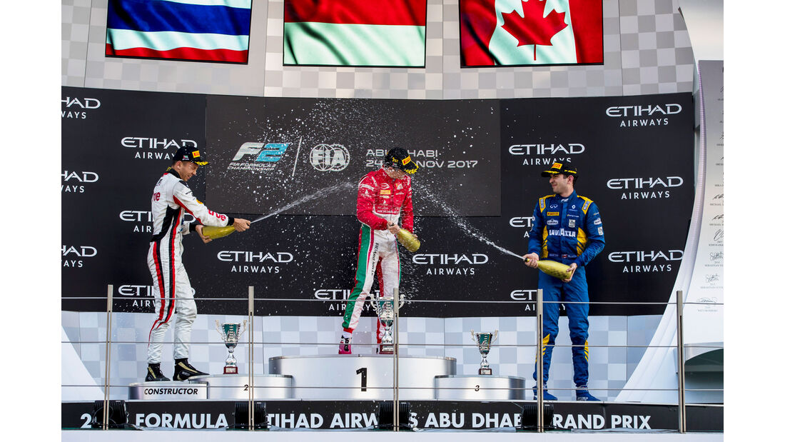 Charles Leclerc - Formula 2 - Prema - Abu Dhabi 2017