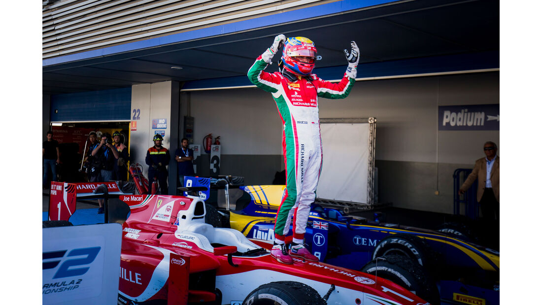 Charles Leclerc - Formula 2 - Prema - Jerez 2017