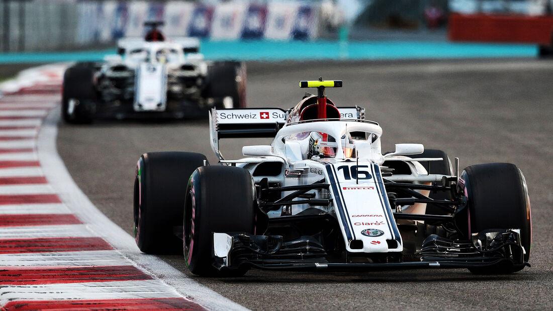 Charles Leclerc - GP Abu Dhabi 2018