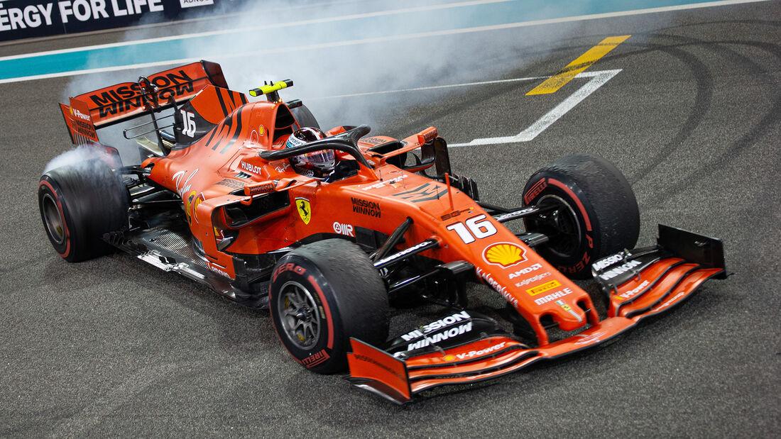 Charles Leclerc - GP Abu Dhabi 2019