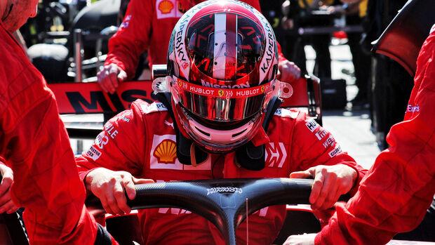 Charles Leclerc - GP Aserbaidschan 2019
