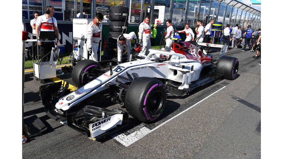 Charles Leclerc - GP Australien 2018