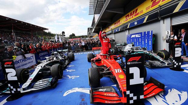 Charles Leclerc - GP Belgien 2019