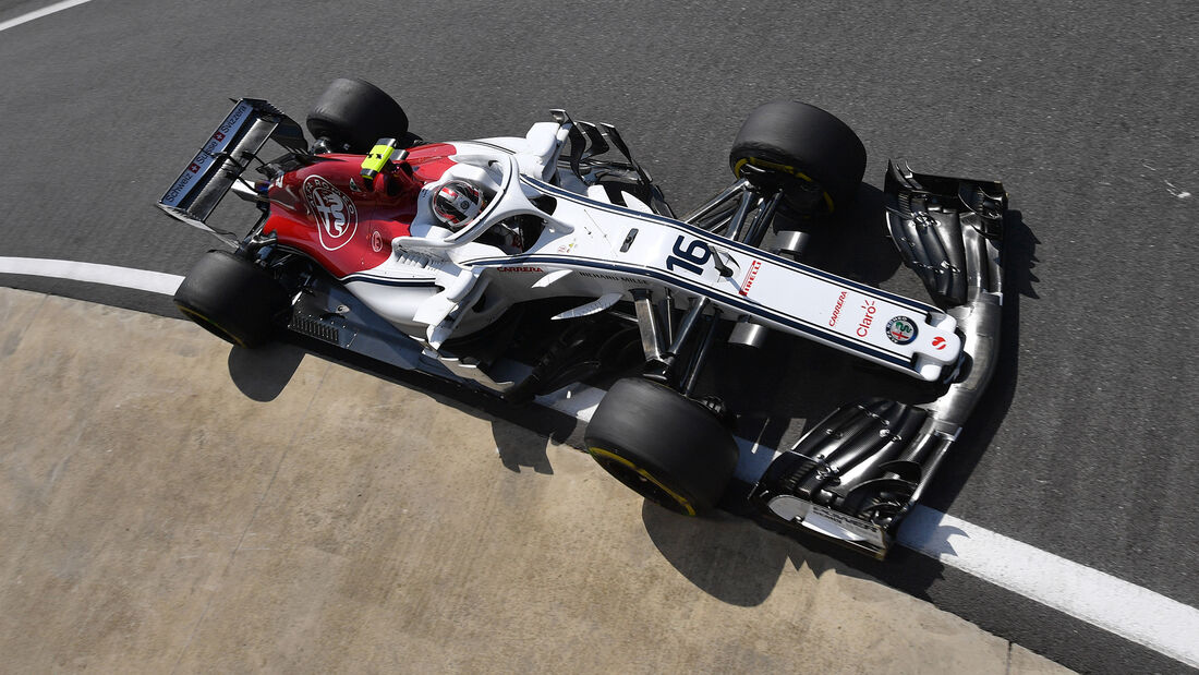 Charles Leclerc - GP England 2018