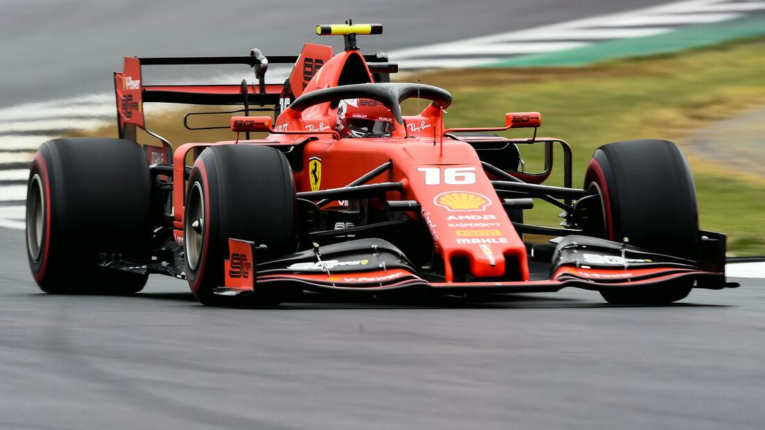 Charles Leclerc - GP England 2019