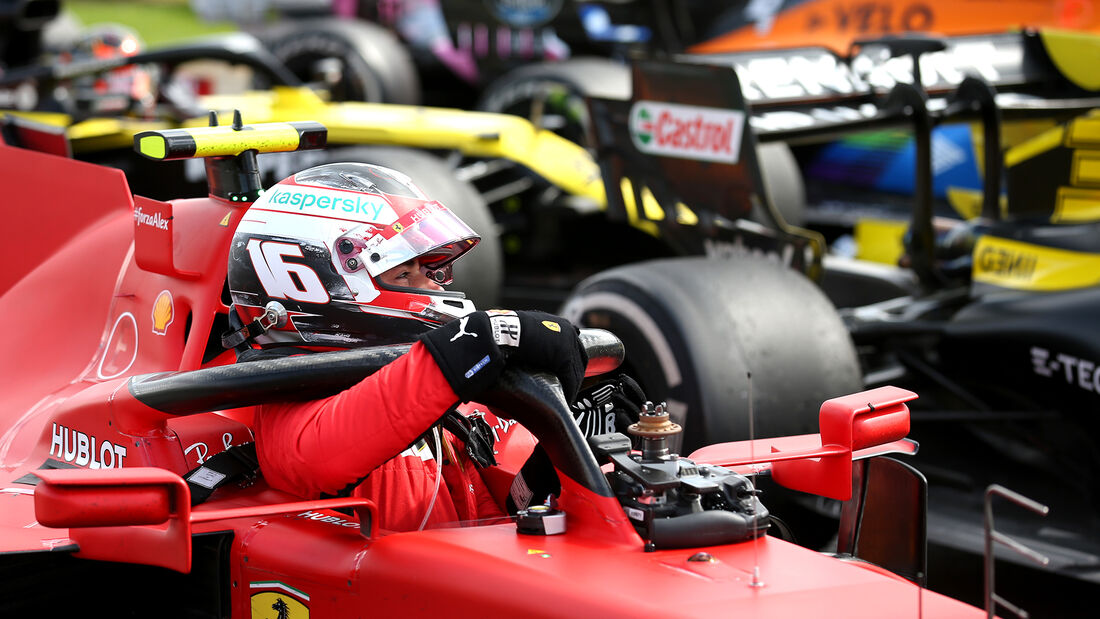 Charles Leclerc - GP England 2020