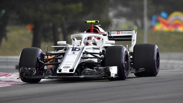 Charles Leclerc - GP Frankreich 2018