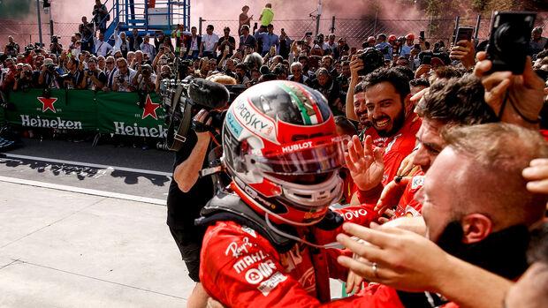 Charles Leclerc - GP Italien - 2019