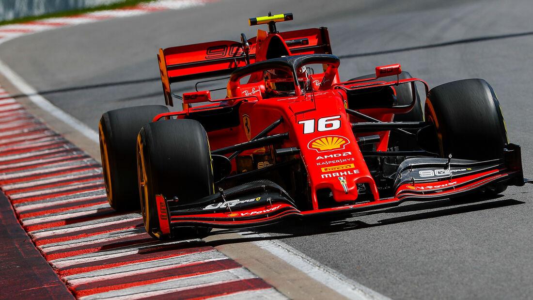 Charles Leclerc - GP Kanada - Montreal - 7. Juni 2019