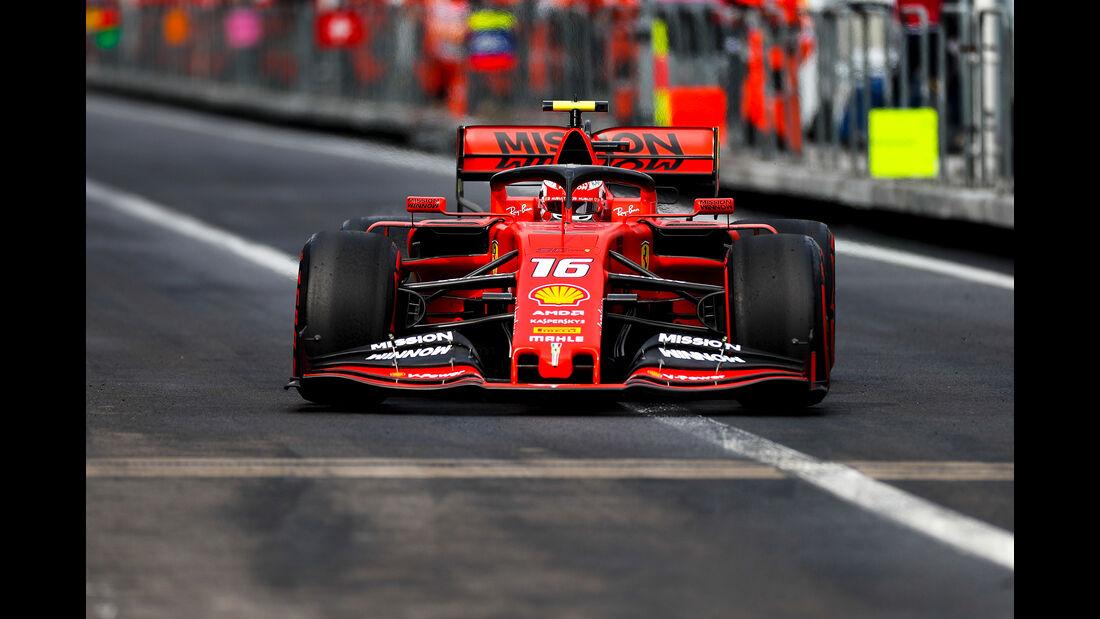 Charles Leclerc - GP Mexiko 2019