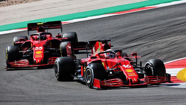 Charles Leclerc - GP Portugal - Formel 1 - 2. Mai 2021
