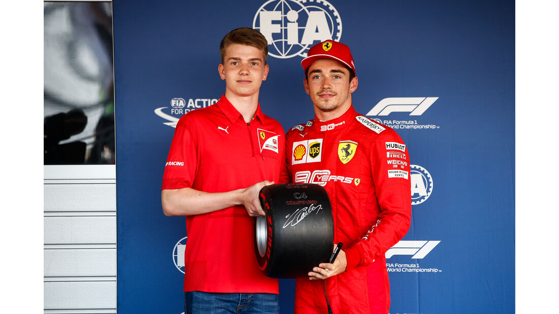 Charles Leclerc - GP Russland 2019