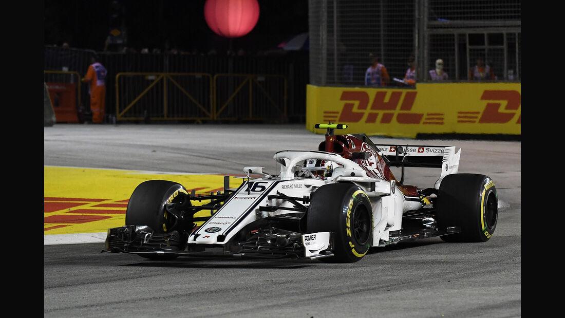 Charles Leclerc - GP Singapur 2018