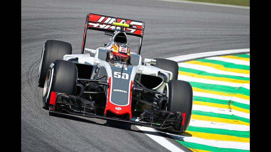 Charles Leclerc - HaasF1 - Brasilien 2016