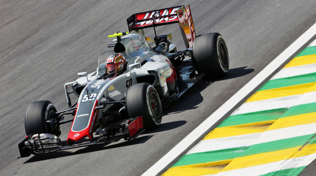 Charles Leclerc - HaasF1 - GP Brasilien - Interlagos - Freitag - 11.11.2016