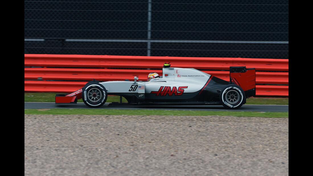 Charles Leclerc - HaasF1 -  GP England - Silverstone - Formel 1 - Freitag - 8.7.2016