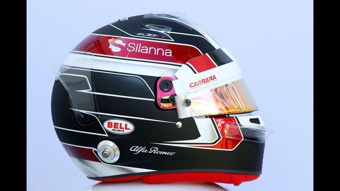 Charles Leclerc - Helm - Formel 1 - 2018