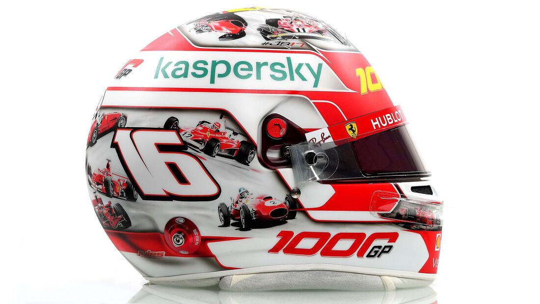 Charles Leclerc - Helm - GP Toskana - Mugello - 2020