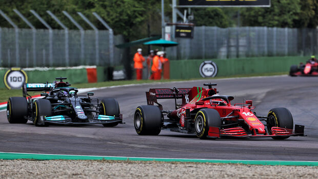 Charles Leclerc - Imola - Formel 1 - GP Emilia Romagna - 2021