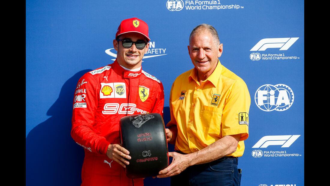 Charles Leclerc & Jody Scheckter  - Formel 1 - GP Italien - Monza - 7. September 2019
