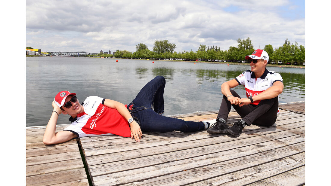 Charles Leclerc & Marcus Ericsson - Sauber - Formel 1 - GP Kanada - Montreal - 7. Juni 2018