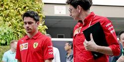 Charles Leclerc & Mattia Binotto - GP Singapur 2019