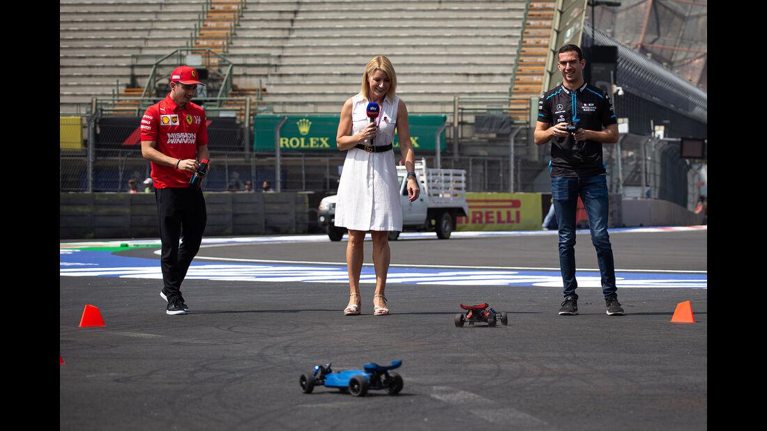 Charles Leclerc & Nicholas Latifi  - Formel 1 - GP Mexiko - 24. Oktober 2019