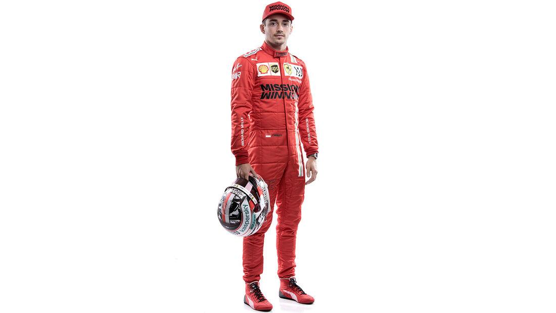 Charles Leclerc - Porträt - Formel 1 - 2021
