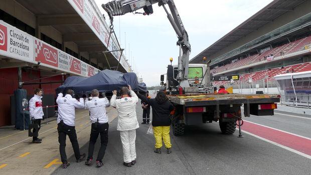 Charles Leclerc - Sauber - F1-Test - Barcelona - Tag 2 - 27. Februar 2018