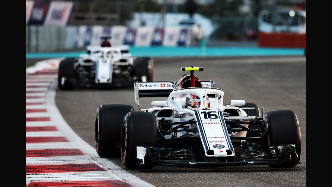 Charles Leclerc - Sauber - Formel 1 - GP Abu Dhabi  -24. November 2018