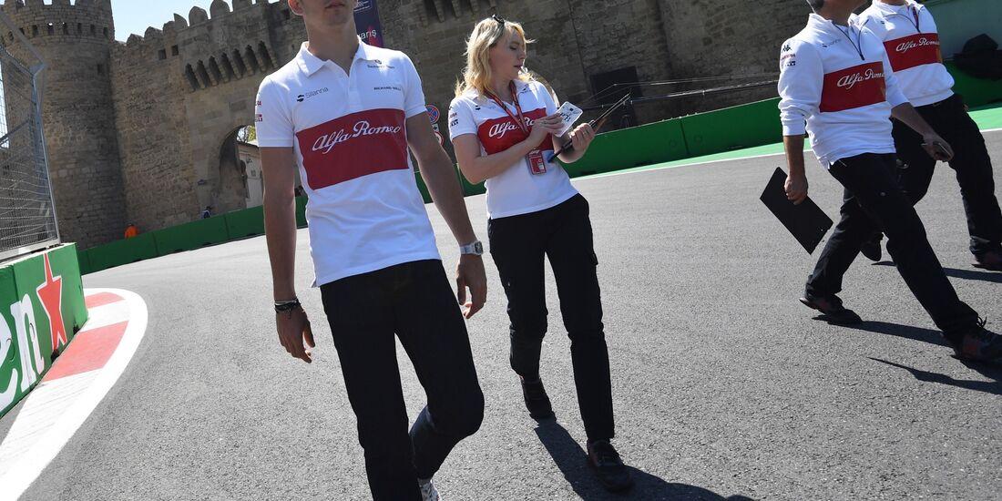 Charles Leclerc - Sauber - Formel 1 - GP Aserbaidschan - 26. April 2018