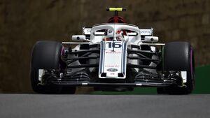 Charles Leclerc - Sauber - Formel 1 - GP Aserbaidschan - 27. April 2018