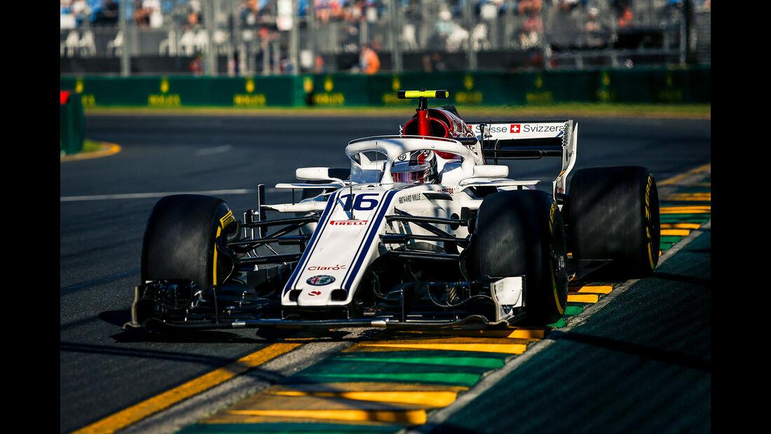Charles Leclerc - Sauber - Formel 1 - GP Australien - Melbourne - 23. März 2018