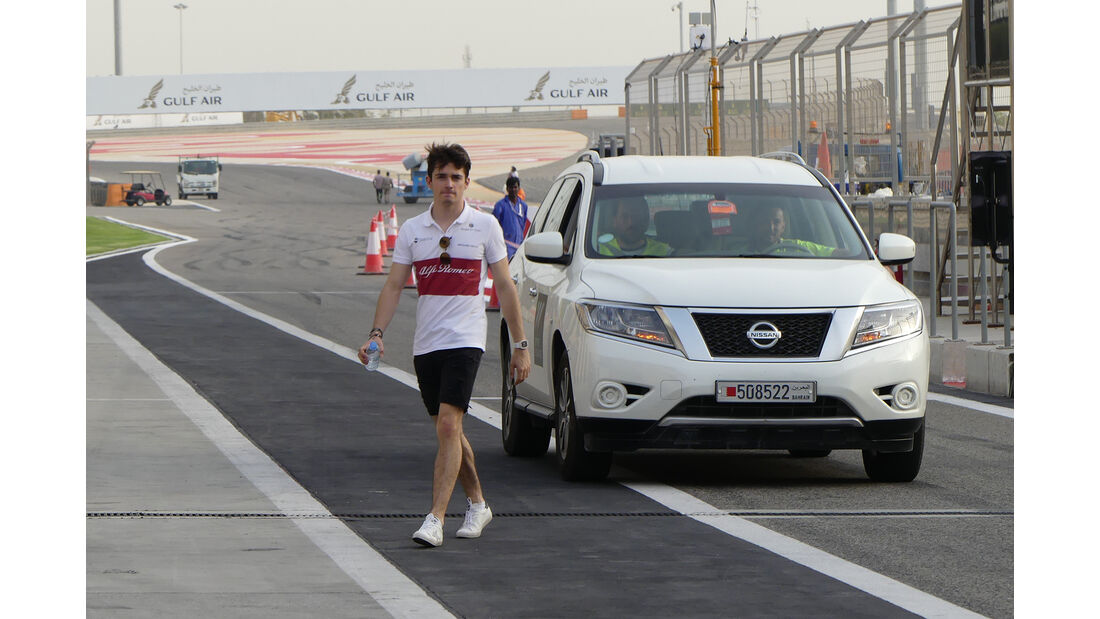 Charles Leclerc - Sauber - Formel 1 - GP  Bahrain - 4. April 2018