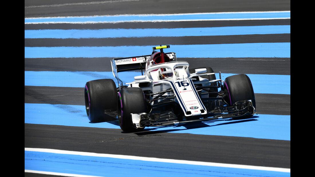 Charles Leclerc - Sauber - Formel 1 - GP Frankreich - Circuit Paul Ricard - 22. Juni 2018