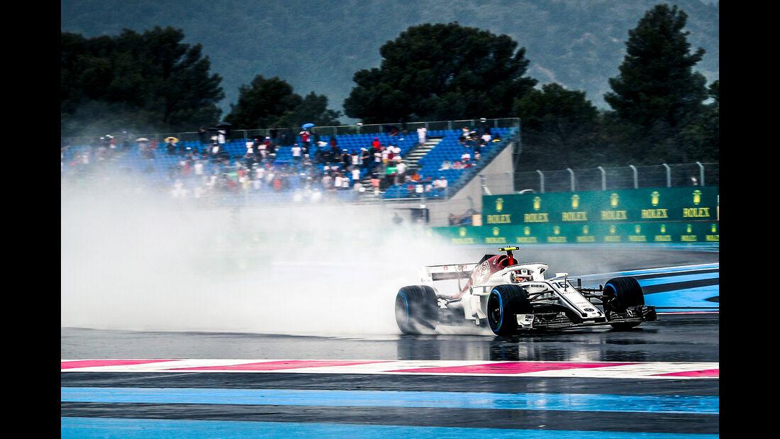 Charles Leclerc - Sauber - Formel 1 - GP Frankreich - Circuit Paul Ricard - Le Castellet - 23. Juni 2018