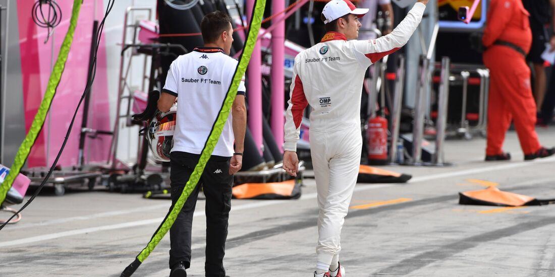 Charles Leclerc - Sauber - Formel 1 - GP Italien - 01. September 2018