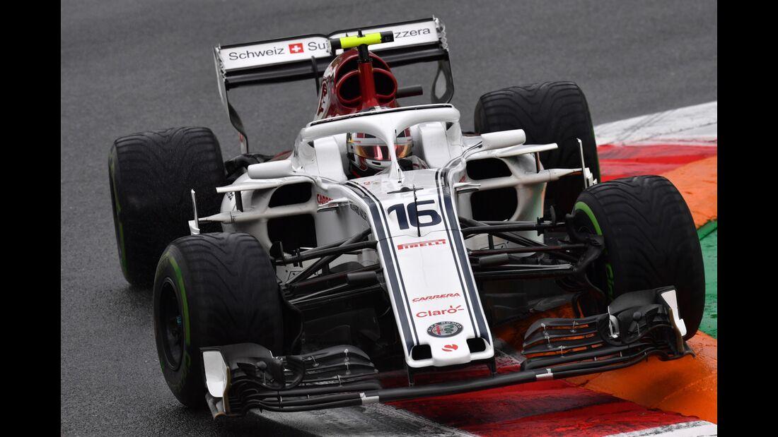 Charles Leclerc - Sauber - Formel 1 - GP Italien - 31. August 2018