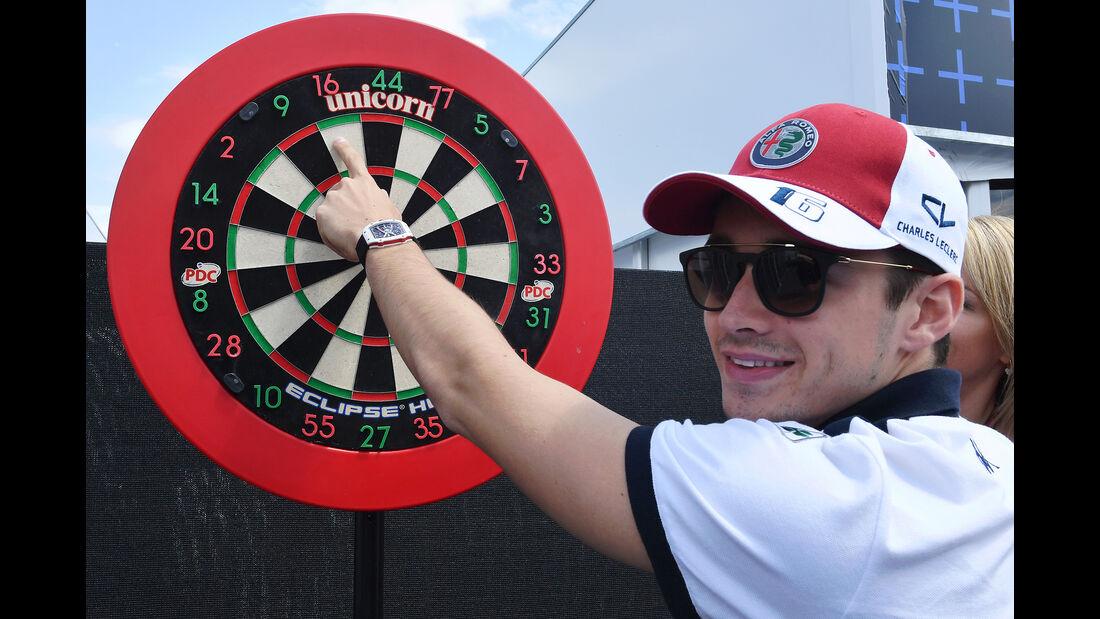 Charles Leclerc - Sauber - Formel 1 - GP Kanada - Montreal - 7. Juni 2018