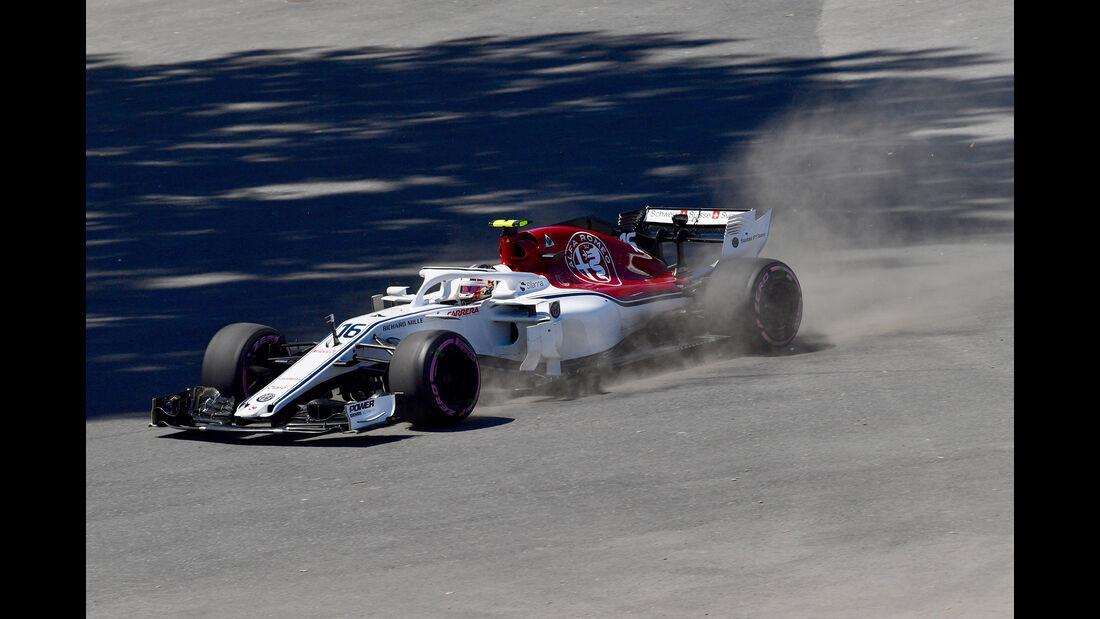 Charles Leclerc - Sauber - Formel 1 - GP Kanada - Montreal - 9. Juni 2018